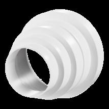 Lépcsős szűkítő kivezetéshez 150/100 mm