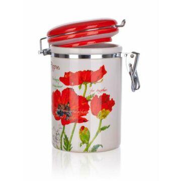 Banquet csatos fűszertartó Red Poppy