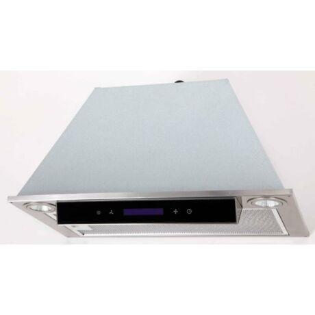 LINEA OK-6 beépíthető páraelszívó inox, fekete panellal 60 cm