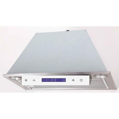 LINEA OK-6 beépíthető páraelszívó // inox, fehér panellal // 90 cm