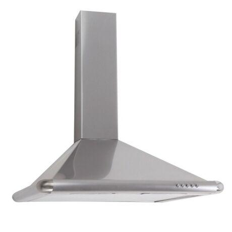 TURBO fali páraelszívó // ezüst // 60 cm