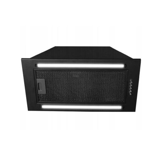 LINEA BRAVO 2 LED  beépíthető elszívó fekete