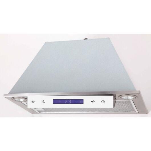 LINEA OK-6 beépíthető páraelszívó inox, fehér panellal // 90 cm